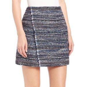 DVF Austyn Tweed Mini Skirt NEW WITH TAGS